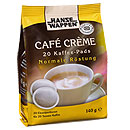 Hansewappen Kaffeepads Cafe Creme normal