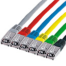 Patch- Kabel CAT5, grau